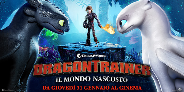 DRAGON TRAINER - IL MONDO NASCOSTO